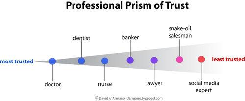 Professional Prism of Trust
